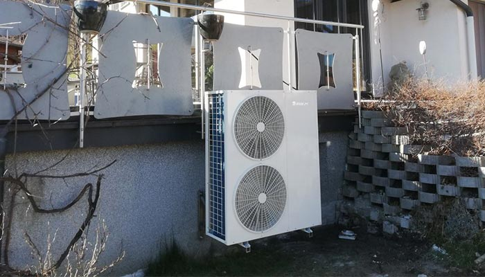 SPRSUN DC inverter household heat pumps