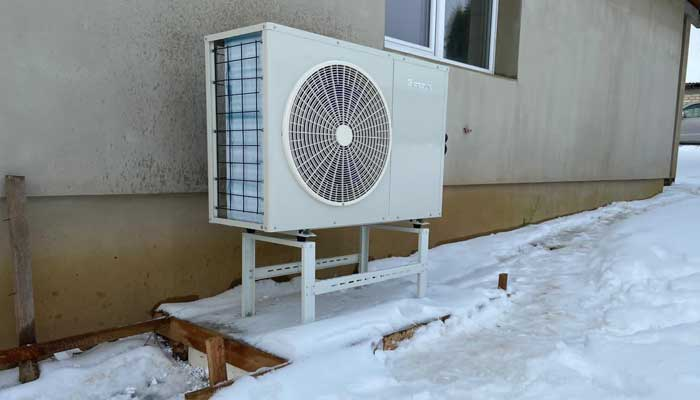 How to Stop a Heat Pump from Freezing UP